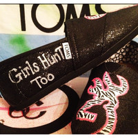 Browning Custom Toms Shoes by CustomTOMSbyJC on Etsy