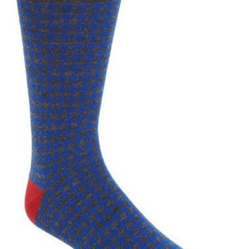 DCCK8BW HOUNDSTOOTH SOCKS