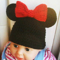 MICKEY and MINNIE MOUSE Hat Crochet Pattern All by AlexHandicrafts