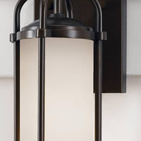 "0-009695>13""h Dakota 1-Light Outdor Lighting Espresso"