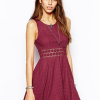 Free People Dress in Merlot