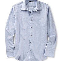 Murano Slim Long-Sleeve Flannel Shortshirt - Light