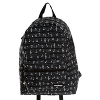 Yak Pak Black And White Music Note Backpack
