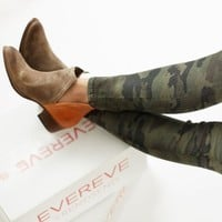 Stop By Mixed Material Bootie by DIBA SHOES