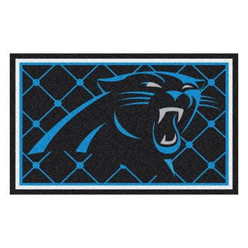 Carolina Panthers NFL Floor Rug (4'x6')