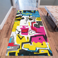 Distorted shapes Area Rug 10'x3'3'' | ID: D2448456