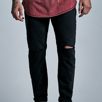 Bullhead Denim Co. Black Ripped Knee Skinny Jeans at PacSun.com