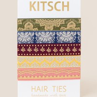 Moroccan Hair Ties by Kitsch