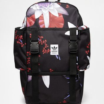 Adidas Originals Backpack in Lotus Print