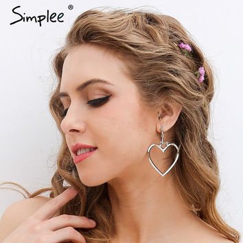 Simplee Statement jewelry womens clothing accessories Fine accessories Shabby chic heart-shaped vintage accessories