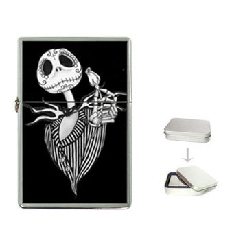 Jack Skellington zippo like lighter, plus a few more designs