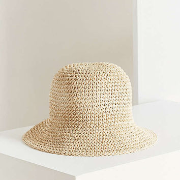 Straw Bucket Hat | Urban Outfitters