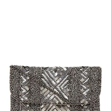 Bead and Sequined Clutch