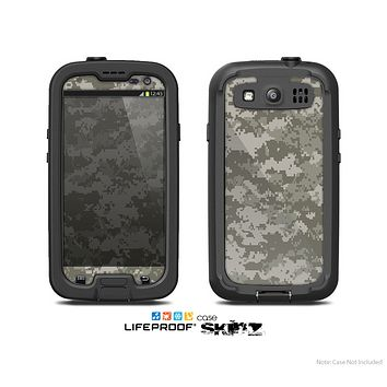 The Digital Camouflage V2 Skin For The Samsung Galaxy S3 LifeProof Case