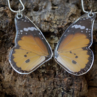 Friendship Butterfly Necklace || African Monarch