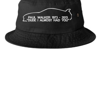 paul walker rip Bucket Hat - Bucket Hat