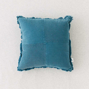 Pieced Corduroy Throw Pillow | Urban Outfitters