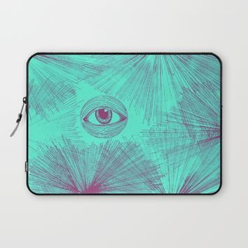 Uncommon Knowledge - Teal Laptop Sleeve by Ducky B