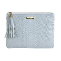 Embossed Python All in One Bag