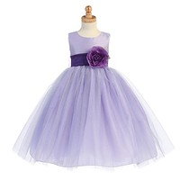Ballerina Flower Girl Dress - Lilac - Infant/Toddler  BL228