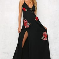 Gaia Maxi Dress Black