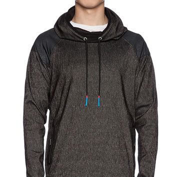 Brandblack Sith Hood Jacket in Charcoal