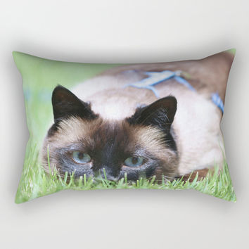 Splendor In The Grass Rectangular Pillow by Theresa Campbell D'August Art