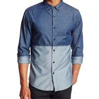 Sovereign Code Men's Bolt Button-Down Shirt