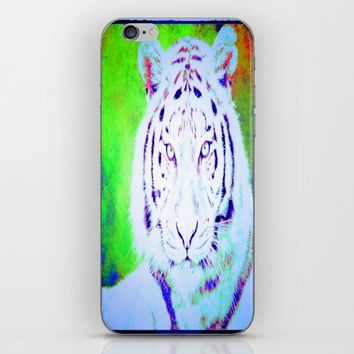 the tiger  iPhone & iPod Skin by Jessica Ivy
