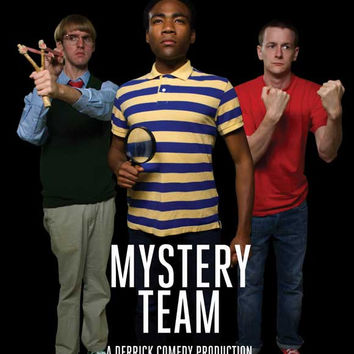 Mystery Team 11x17 Movie Poster (2009)