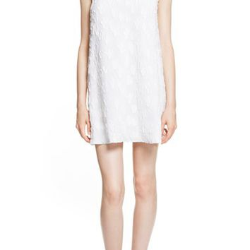 KENZO 'Cartoon Cactus' Embroidered Sleeveless Shift Dress | Nordstrom