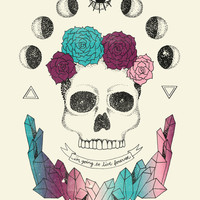Live Forever Art Print by Wesley Bird