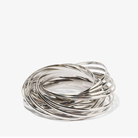 Interlocked Bangle Set