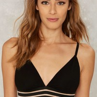 Polo Striped Bralette