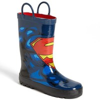 Western Chief 'Superman Forever' Rain Boot (Walker, Toddler, Little Kid & Big Kid)