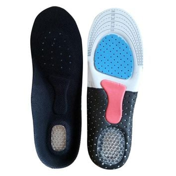 High Quality 1 Pair Men/Women SOFT Silicone Gel Honeycomb Massaging Insoles Sports Running Athletic Shoe Pad Inserts Insole