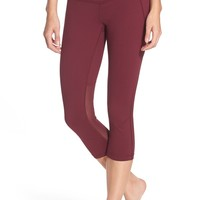 Zella 'Live In - Streamline' Slim Fit High Rise Capris | Nordstrom