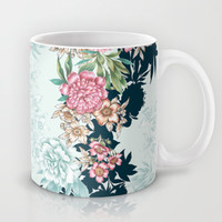 Painted Floral Mug by Gemma Hodgson Design