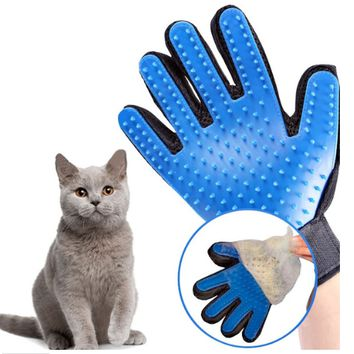 Pet Hair Brush Glove