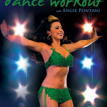 """""""The Go-Go Dance Workout"""" DVD with Angie Pontani"""