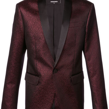 Dsquared2 Metallic Fitted Blazer - Farfetch