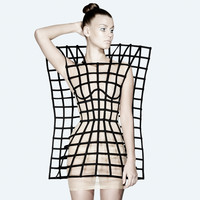 chromat — Machine City Dress