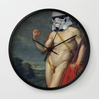 troopper troy Wall Clock by Startistunknown