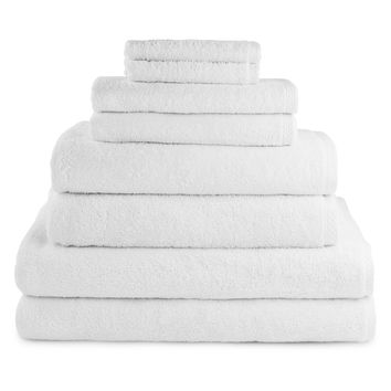 Luxor Linens Jaen-Martos Towels (8 PC) - White