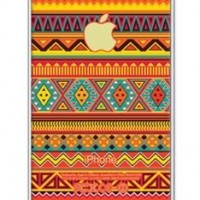 iZERCASE Colorful Aztec Pattern Rubber iphone SE case - Fits iphone SE, iPhone 5S T-Mobile, Verizon, AT&T, Sprint and International