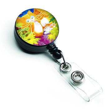 Cat Tea Time Retractable Badge Reel 6101BR
