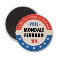 Vote Mondale/Ferraro '84 Fridge Magnet