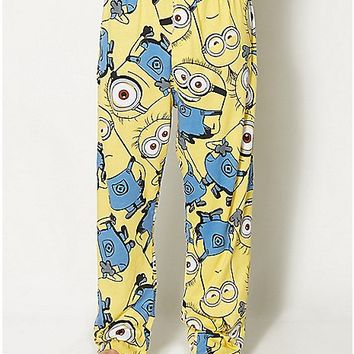 Minions Despicable Me Lounge Pants - Spencer's