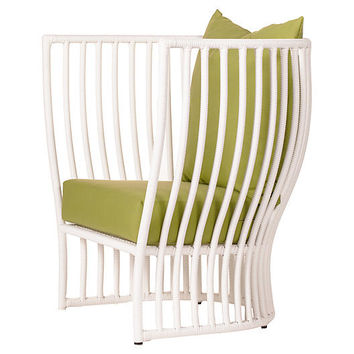 Napa Outdoor Lounge Chair, Moss - Alfresco Dining - Outdoor Essentials - Outdoor | One Kings Lane