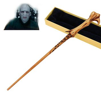 Metal Core Lord Voldemort/You Know Who Magical Wands/Quality Gift Box Packing                          for Harri Potter Cosplay